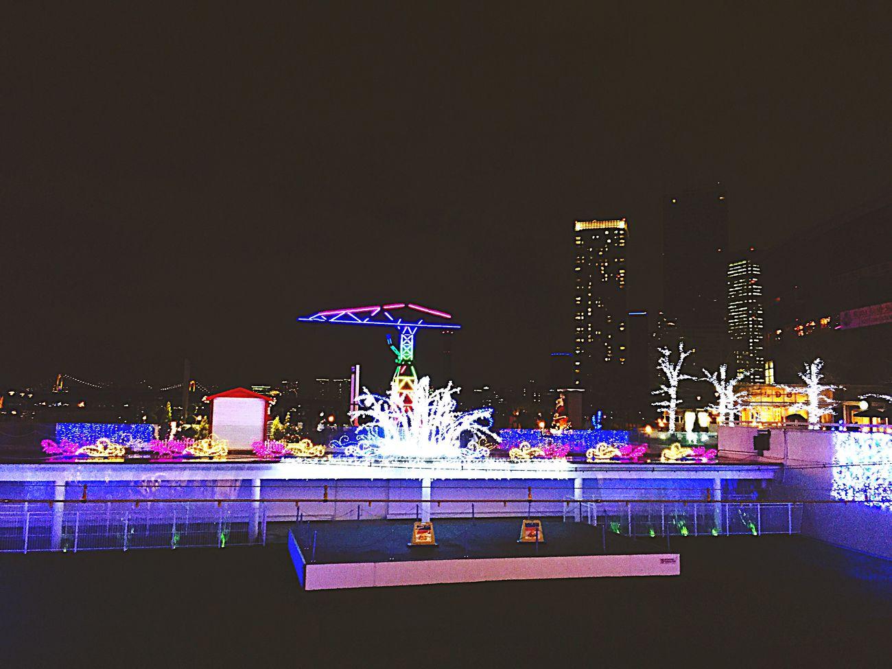 Toyosu Japan MERRY CHRISTMAS