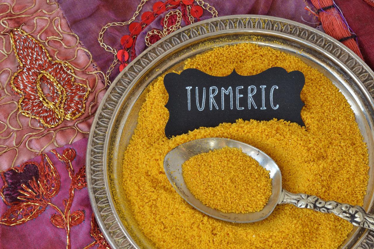 Antidepressants Antioxidant Cholesterol Close-up Curcuma Diabetes Food Healthy Food India Indian Ingredient Natural No People Obesity Powder Spice Text Turmeric Powder