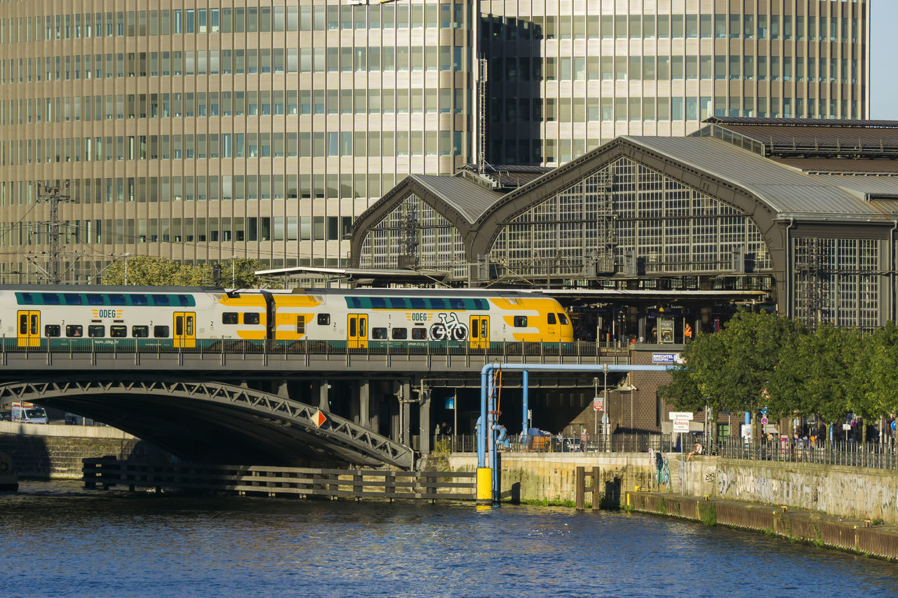 Friedrichstrasse Station with Spree River in Berlin, Germany Architecture Berlin Bridge - Man Made Structure Building Exterior Built Structure City Color Image Day Friedrichstrasse Station Germany🇩🇪 Horizontal Mode Of Transport No People Outdoors Photography Railway Station Spree River Berlin Train Transportation Travel Destinations Water