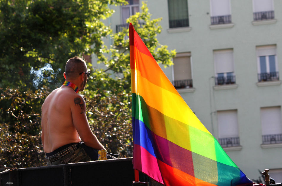 Beautiful stock photos of homosexuell, only men, adults only, preparation, multi colored