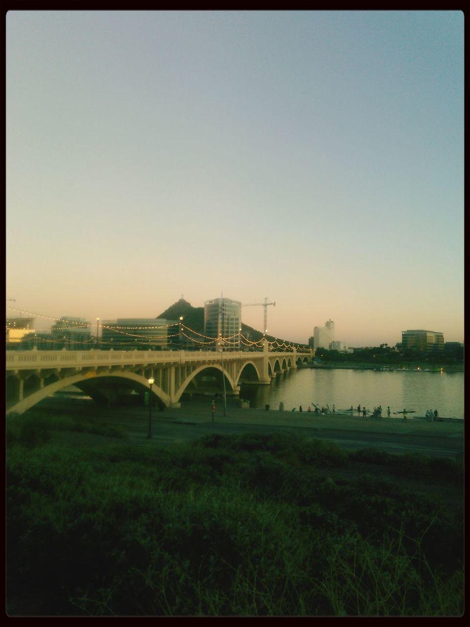 Mycity Tempetownlake Bridge PictureTime☺