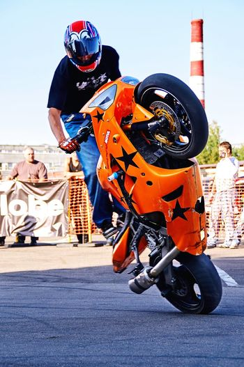 Old capture Stunt Riding in Moscow, Motorcycles Sportbike Action Bike Ride Or Die Extreme Lifestyle