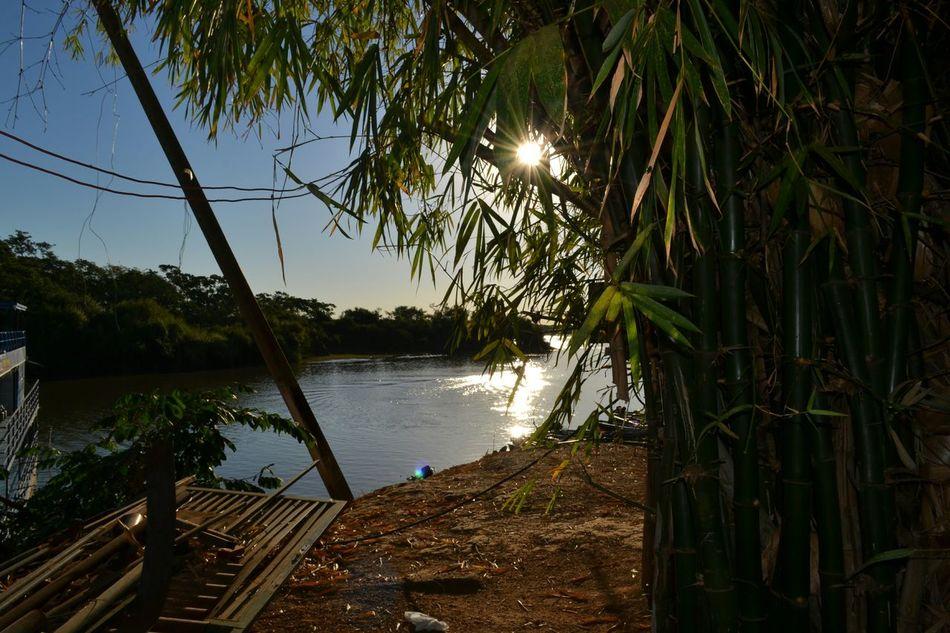 Sol rachando no Araguaia... Araguaia Sun Sunrise Sunshine River Boats Nature Nature_collection Adventure EyeEm Nature Lover