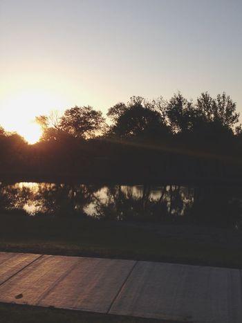 Morning drive. Kansas Wichita My Hood Sunrise Photography