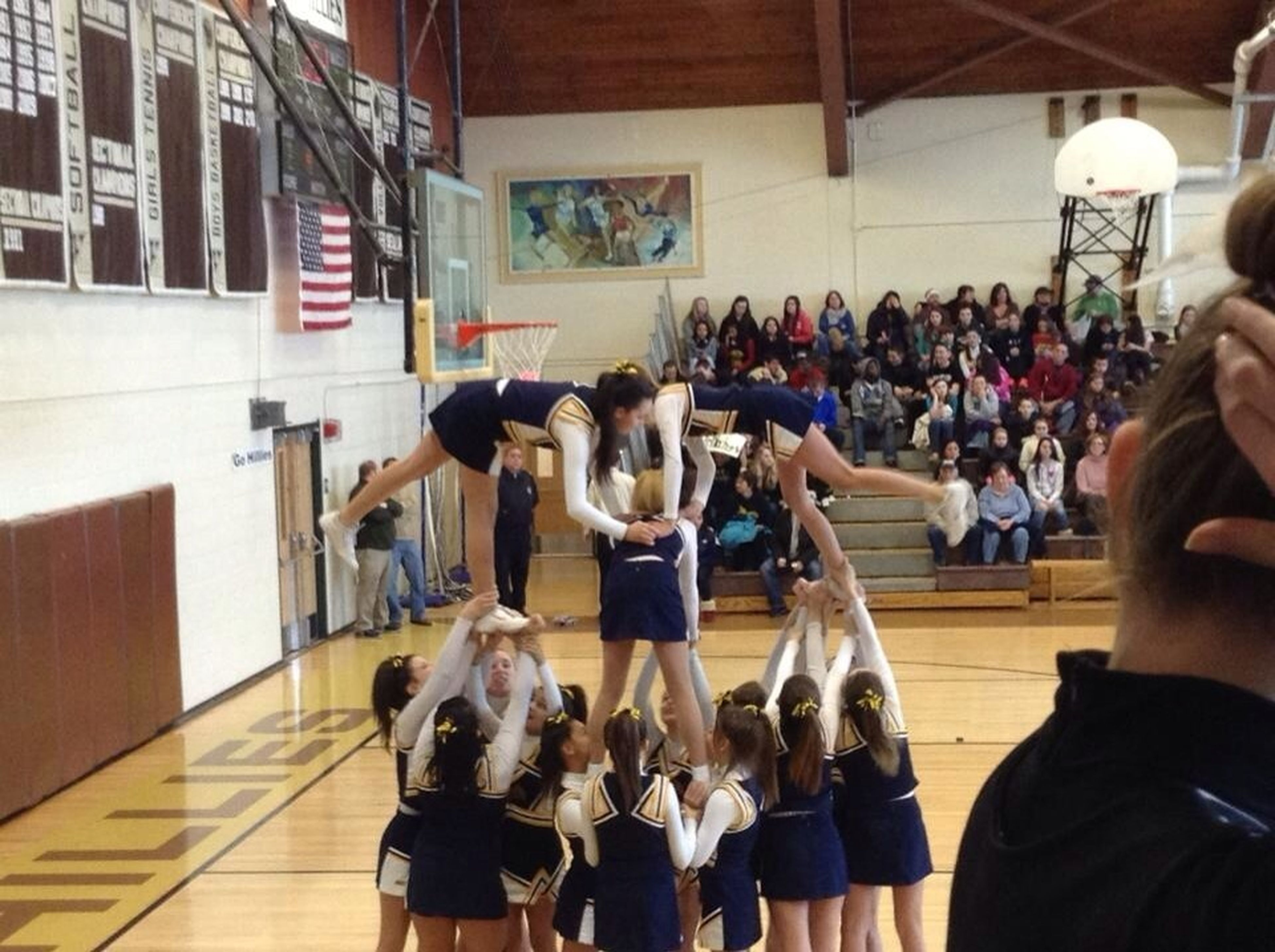 Our Cheer Stunt