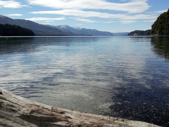 Tacul Beach Nahuel Huapi Lake Hanging Out Mountains Water Relax