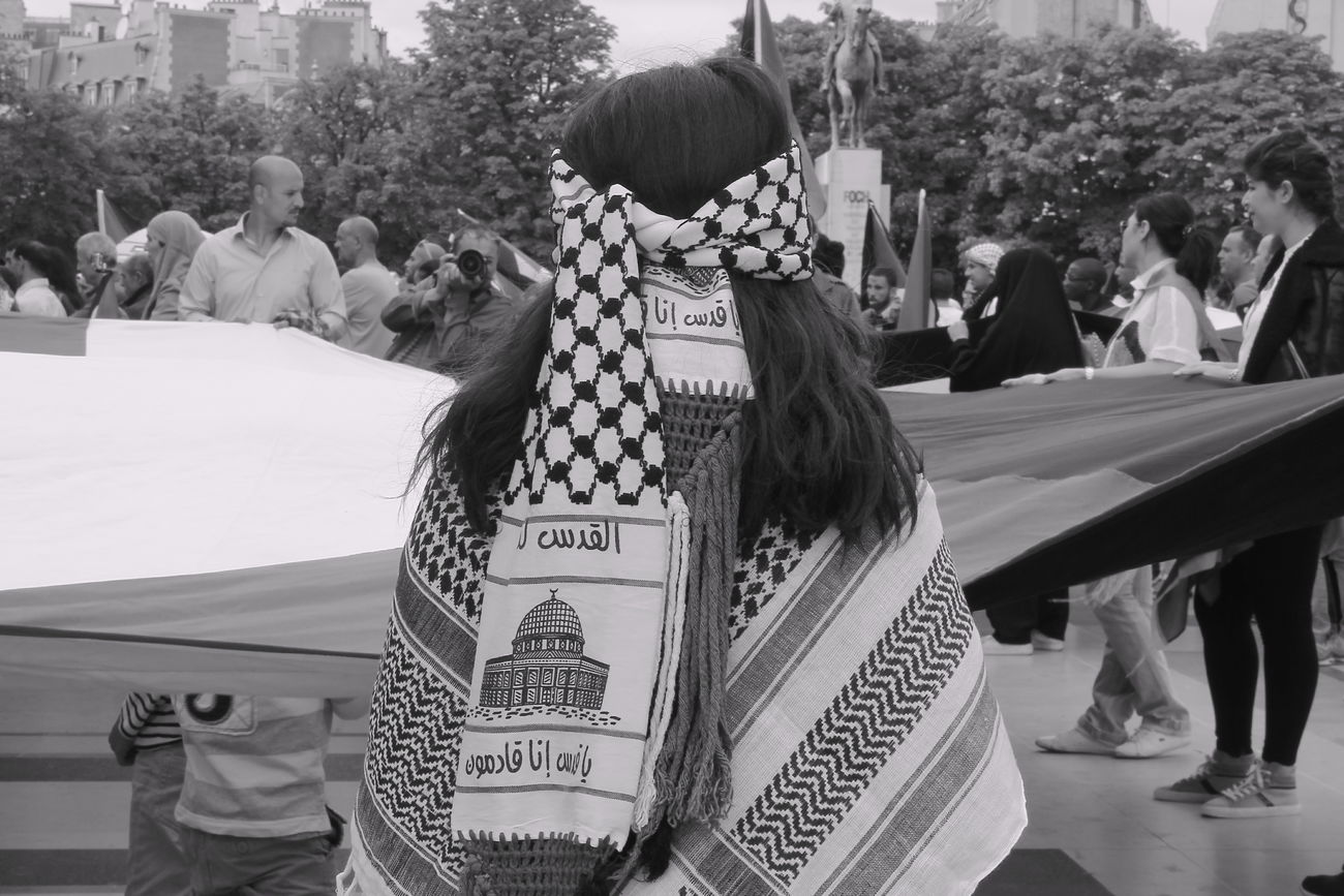 Manifestation Paris, France  Palestine Photography Children SAVE GAZA Monochrome Blackandwhite The Human Condition Tchdwnprod