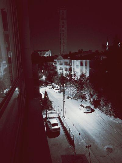 Car Apartment Turkey Ankara Like Blackandwhite Blackandwhite Photography Architecture Building Exterior bir geceden hatira.