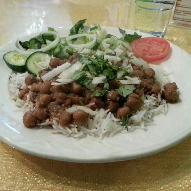 Lunch Curry Chana Masala vegetarian healthy spicy yummy Vancouver marpole