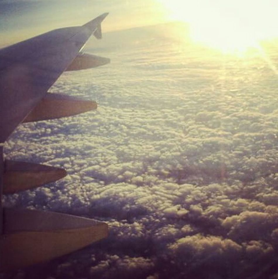 ... 😁😁😁 Over The Clouds Travel Skylimits Flying High Living Life