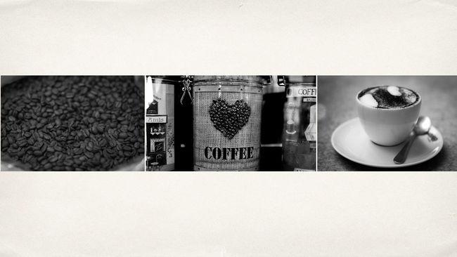 Triptik/Triptico. Blackandwhite Coffee Coffee Beans Coffee Time Coffee ☕ Feeling Good Love Moment Triptik Warm