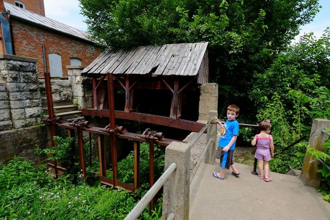 A Day In The Life Rural Exploration Kids Being Kids Sunny Day Historical Building Mill Vintage Technology