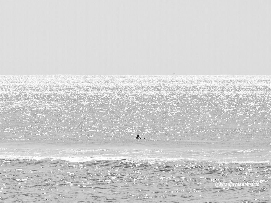 Monochrome Photography Sea Horizon Over Water Beach Tranquil Scene Scenics Unrecognizable Person Vacations Water Beauty In Nature Tranquility Nature Seascape Rippled WaveNature Clear Sky Monochrome EyeEm Gallery Lightsun Black And White Photography Black And White Blackandwhite Photography Colors And Patterns Olympus OM-D E-M5 Mk.II