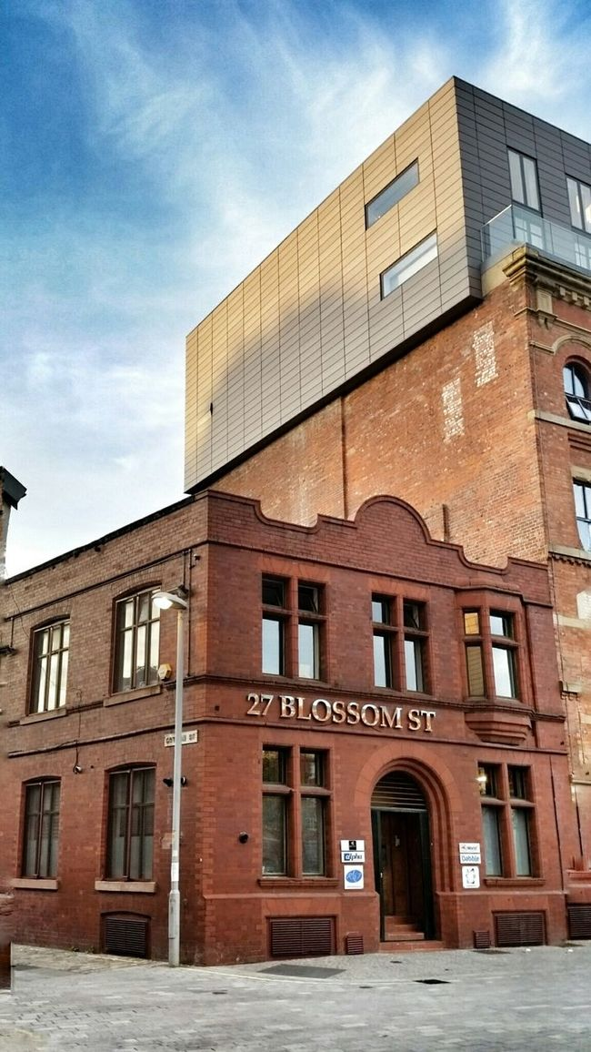 27 Blossom Street Ancoats Architecture Heritage