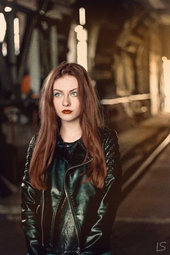 People And Places Long Hair Young Women Person Casual Clothing Lifestyles Beauty Beautiful People Russia Sad Girl Россия грусть урбанистика футуризм Industry Urban Urbanphotography