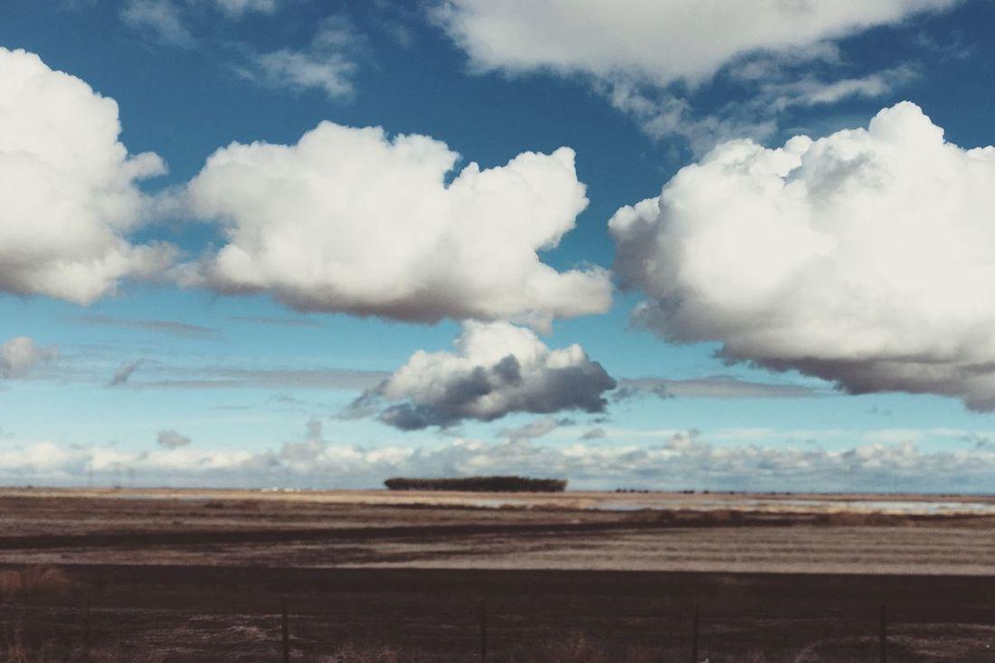Cloud parade. California