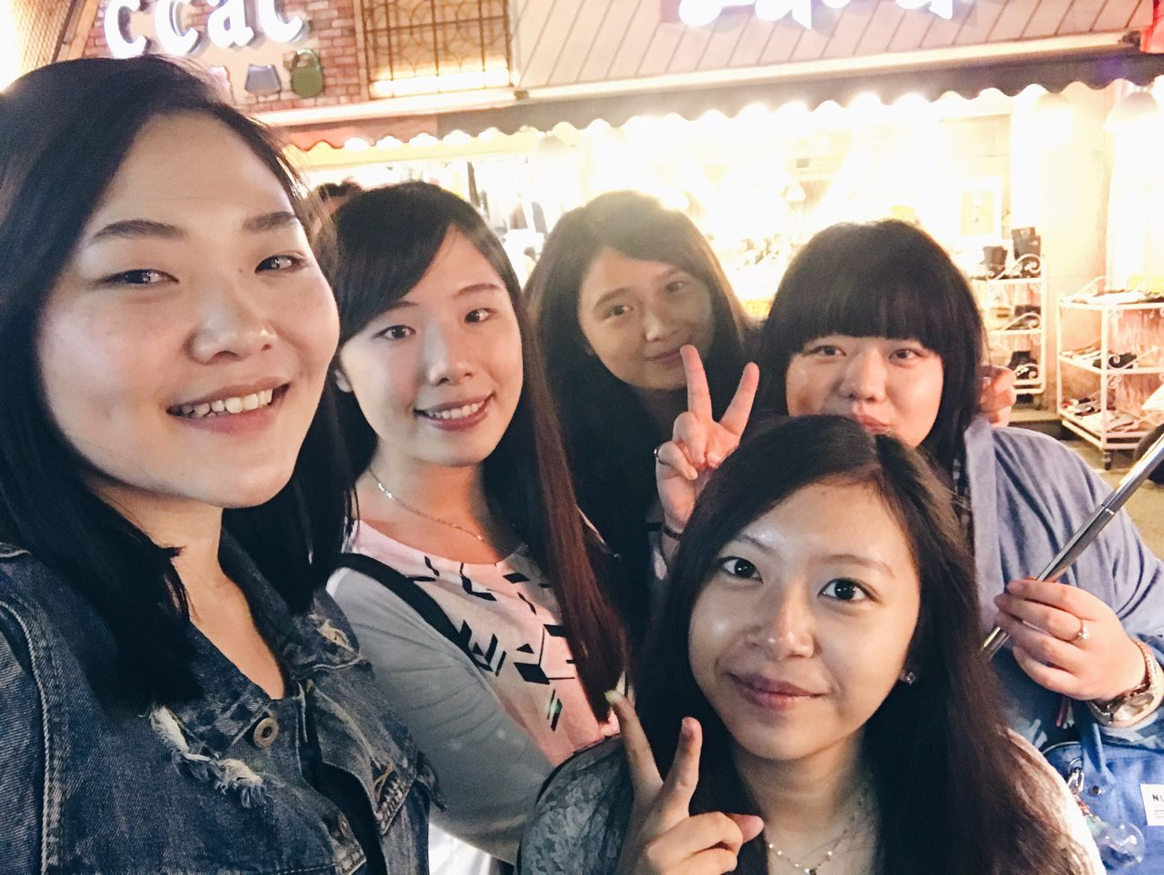20161030 Friendship Nightmarket Hello World Taiwan Kate's Daily Yolo VSCO EyeEm Vscocam Enjoying Life Beauty Photography Women Relaxing Outdoors Hanging Out Happiness Taking Photos