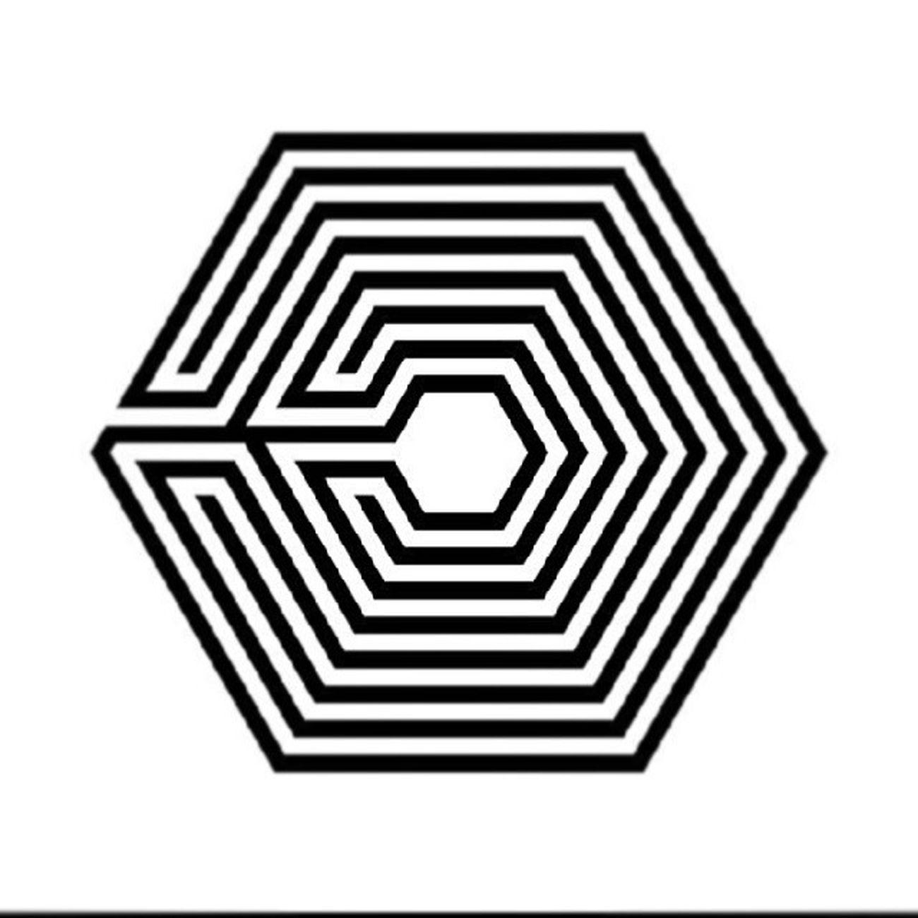 EXO new logo... Exok Exom 12wolves