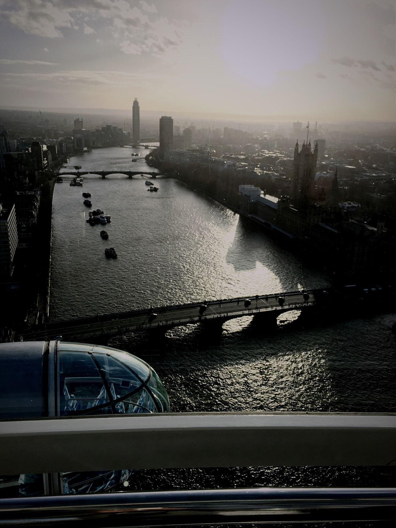 London Bigben London Eye Thamesriver