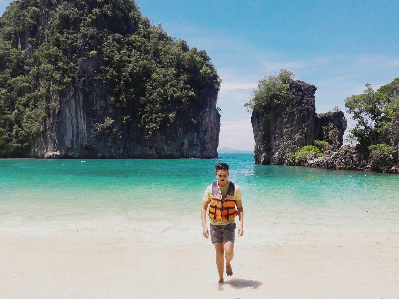 Beach Krabi Thailand Hongisland Island