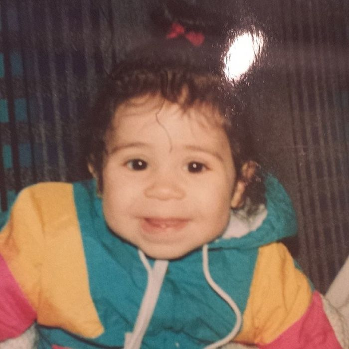 Throwback TBT  1995 1yearsold baby yearsago smiles multicoloredjacket gottalovethe90sclothes