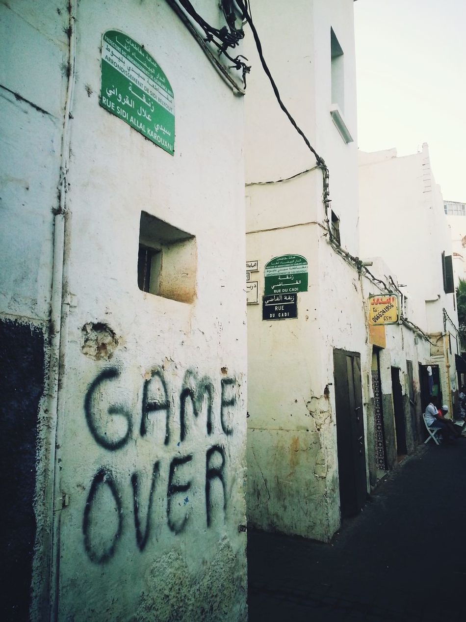 Gameover Casablanca Street Photography EyeEm Best Shots