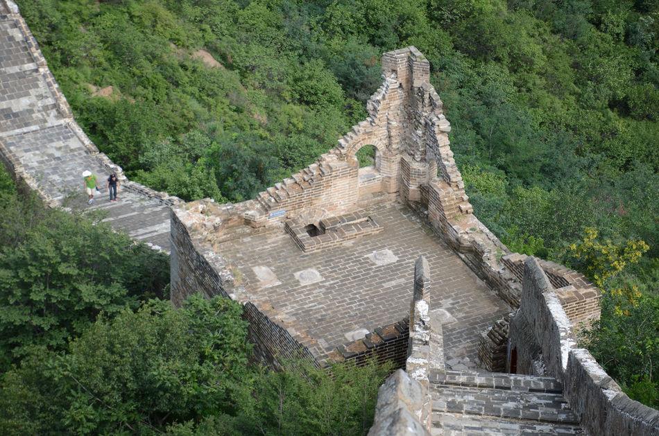 Artchetecture_collection Beijing, China Brick Wall Famous Place Gubeikou Jinshanling JInshanling Great Wall The Great Wall Of China Top Of The Mountain A Bird's Eye View
