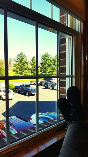 School School Class View Window Window View Parking Lot Landscape Boredom Boredom At Its Finest Relax Relaxing Graduate School Nurse Practitioner Adhd Pretty Stuck Inside Planning Escape Boots