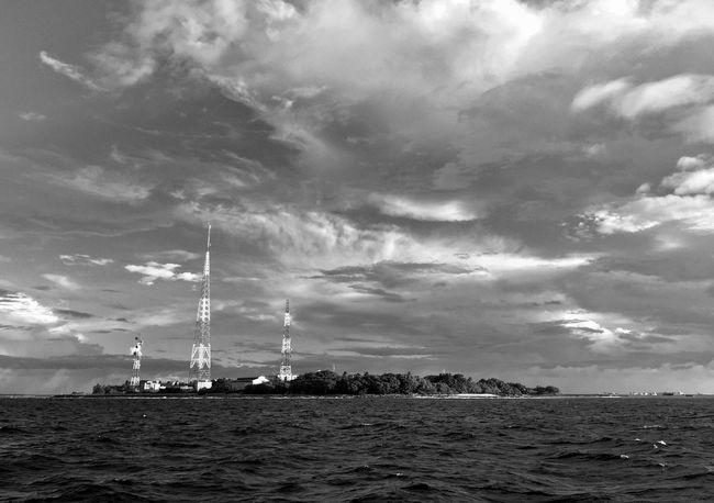 B/w Daily @villigili EyeEm B/W Ocean Contrast Firsttimers Beachphotography Island
