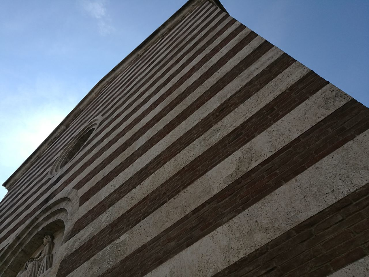 Architecture Built Structure Church Architecture Smartphone Photographer Geometric Lines Clear Sky Striped High Angle View Prospettive