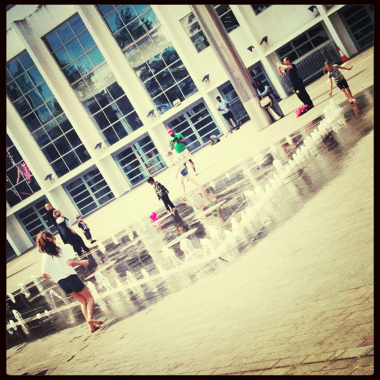 People Are People Fountain Fun