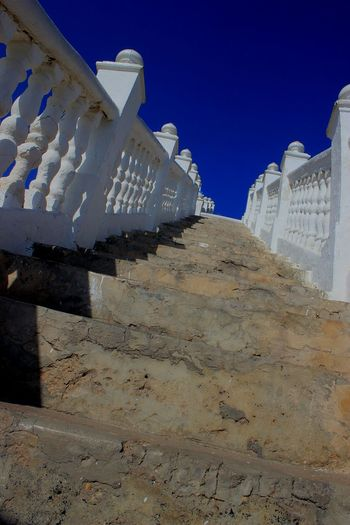 Benidorm Spain Benidorm Old Town White Color Infinity Architecture Building And Sky Travel Photography