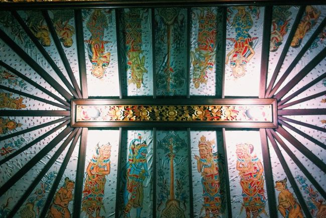 Old story on the roof Culture Bali Check This Out Art