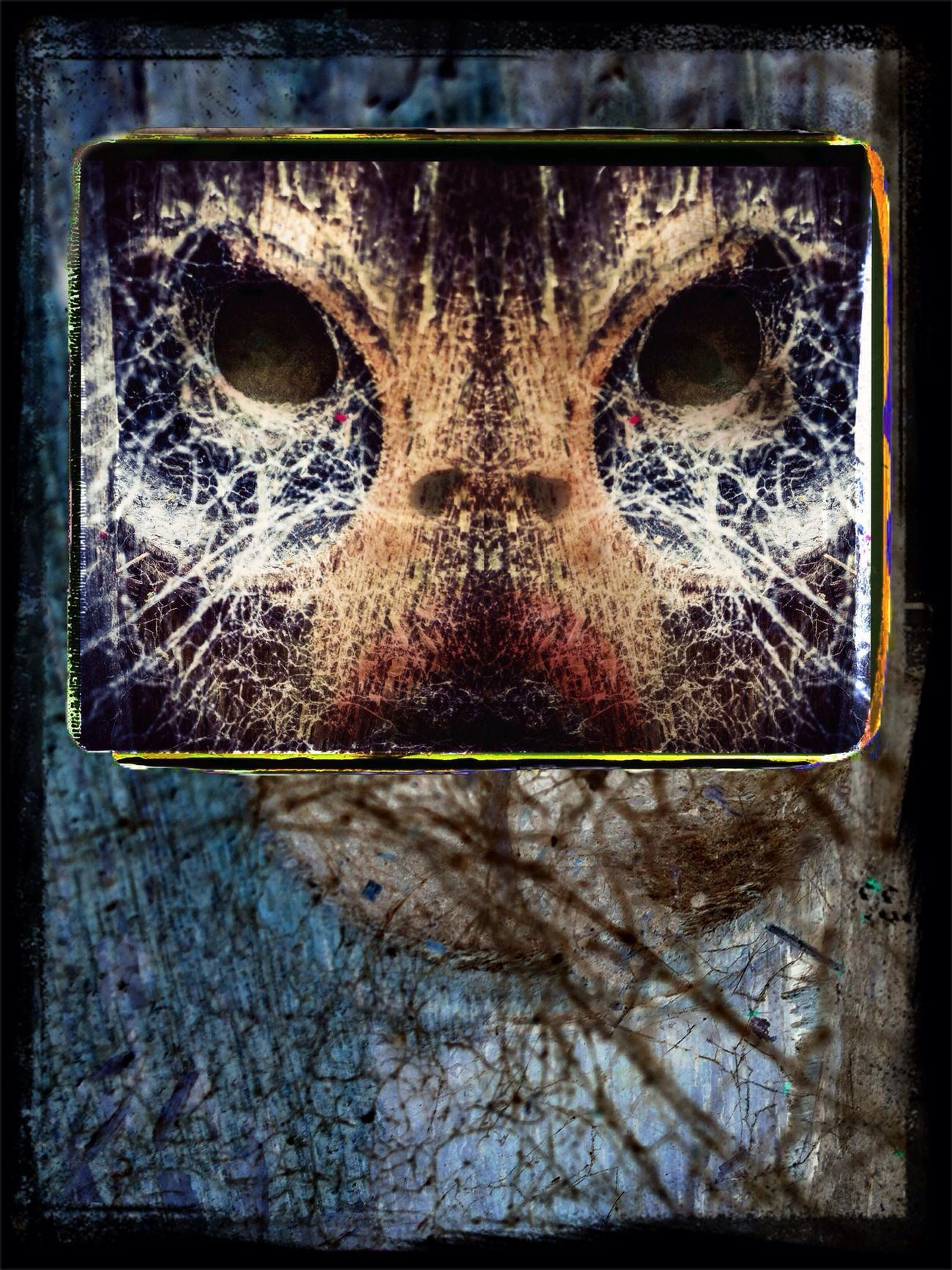 Cobweb monster... Modern Primitive Creatures OF Dream