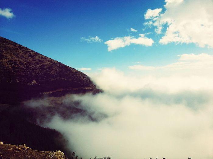 Sky Mountain Cloud Foggy