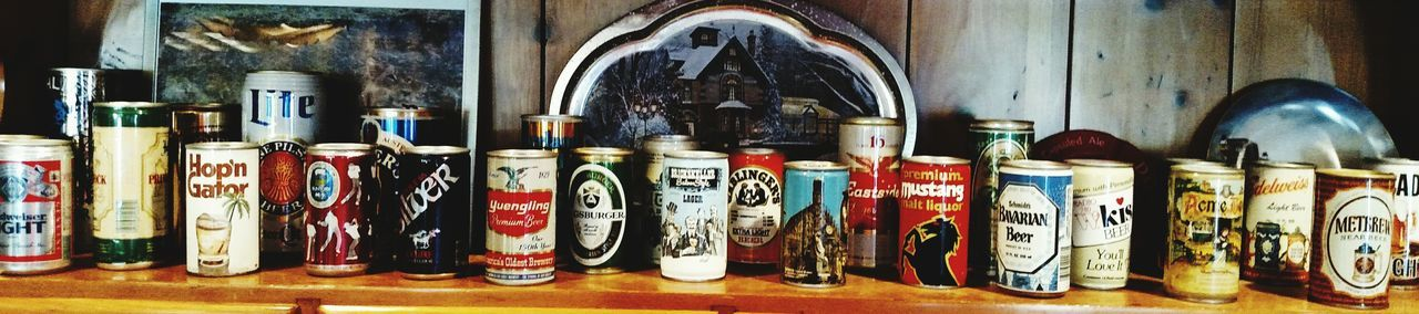 Indoors  No People Large Group Of Objects In A Row Variation Choice Beer Lovers Arrangement Close-up Cans Beautiful ♥ Designs