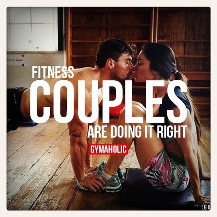 Fitness Couple Fitness Workout Fitness Couple Love