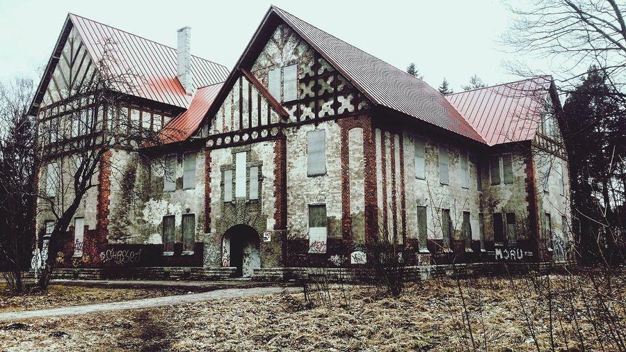 Architecture Built Structure HospitalOutdoors Abandoned Tallinn Estonia Psychiatric Hospital Lifestyles First Eyeem Photo