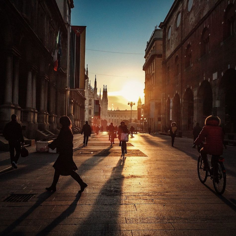 Beautiful stock photos of sunshine, Architecture, Bicycle, Building Exterior, Built Structure