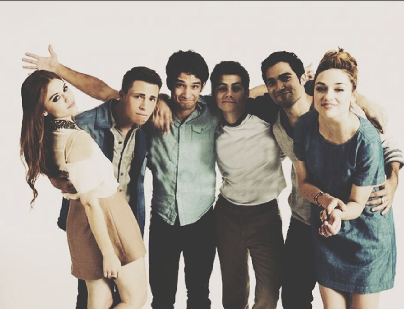 Teen Wolf Vous Reconnaissez ?? Peoplephotography Stars loooove !!! :*