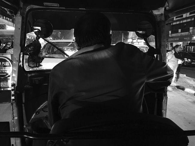 Monochrome Photography Auto Rickshaw Ride IPhone