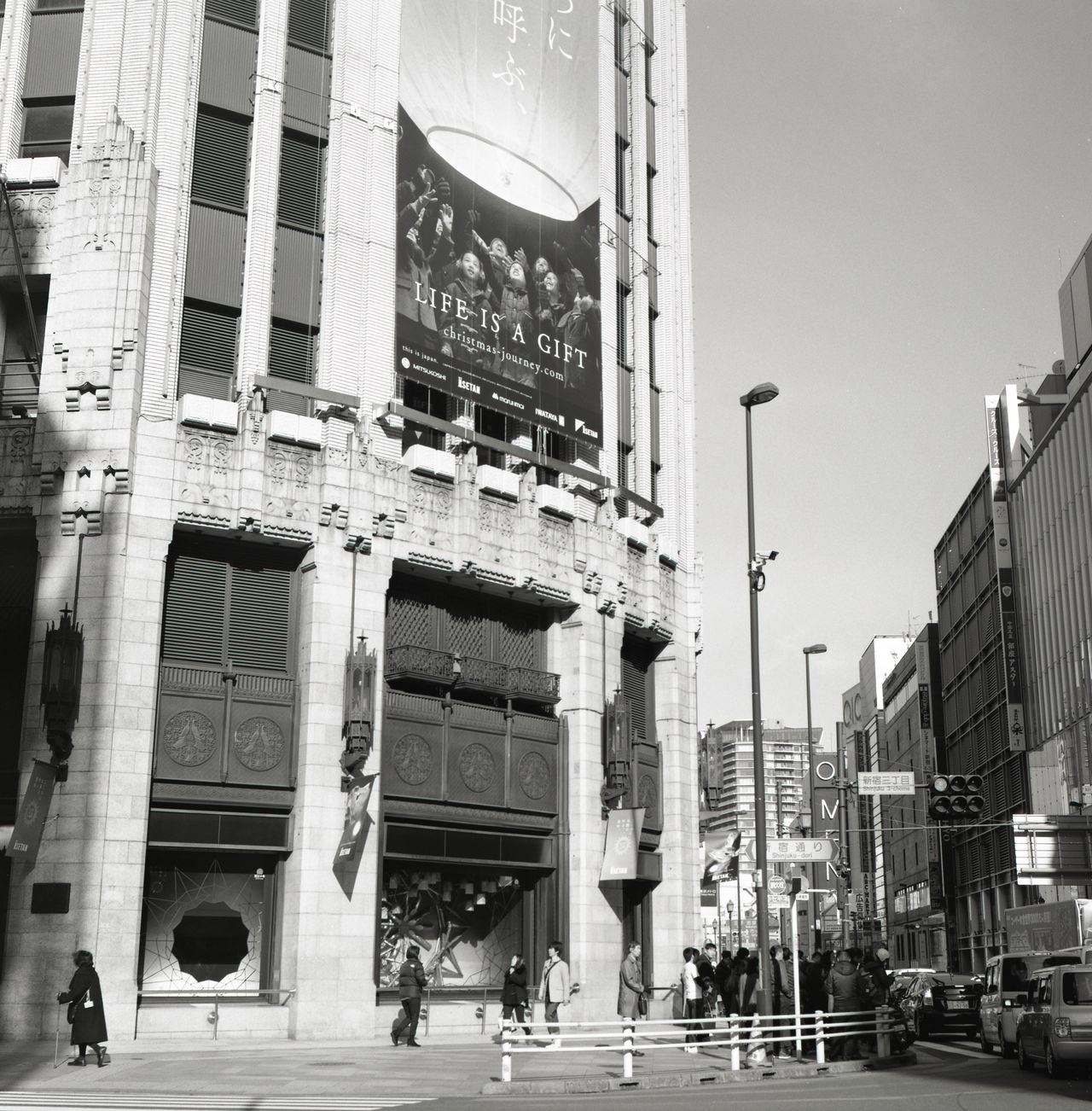 Architecture Black & White Black And White Blackandwhite Blackandwhite Photography Building Exterior Built Structure City City Life City Street City Streets  City View  Cityscape Film Film Photography Filmcamera Japan Japan Photography Monochrome People Skyscraper Street Streetphoto_bw Streetphotography Tokyo