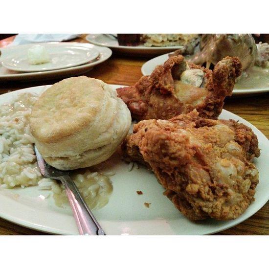 That good food ☺ Lunch Losangeles Roscoes Behungry foodporn yummy