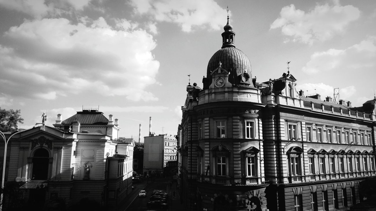 Architecture Old Town Poland 💗 Tourism History Bielsko-Biała Skoczow Day Sky Built Structure Outdoors Childhood Headshot Close-up