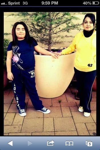 My Mom & Sister ❤