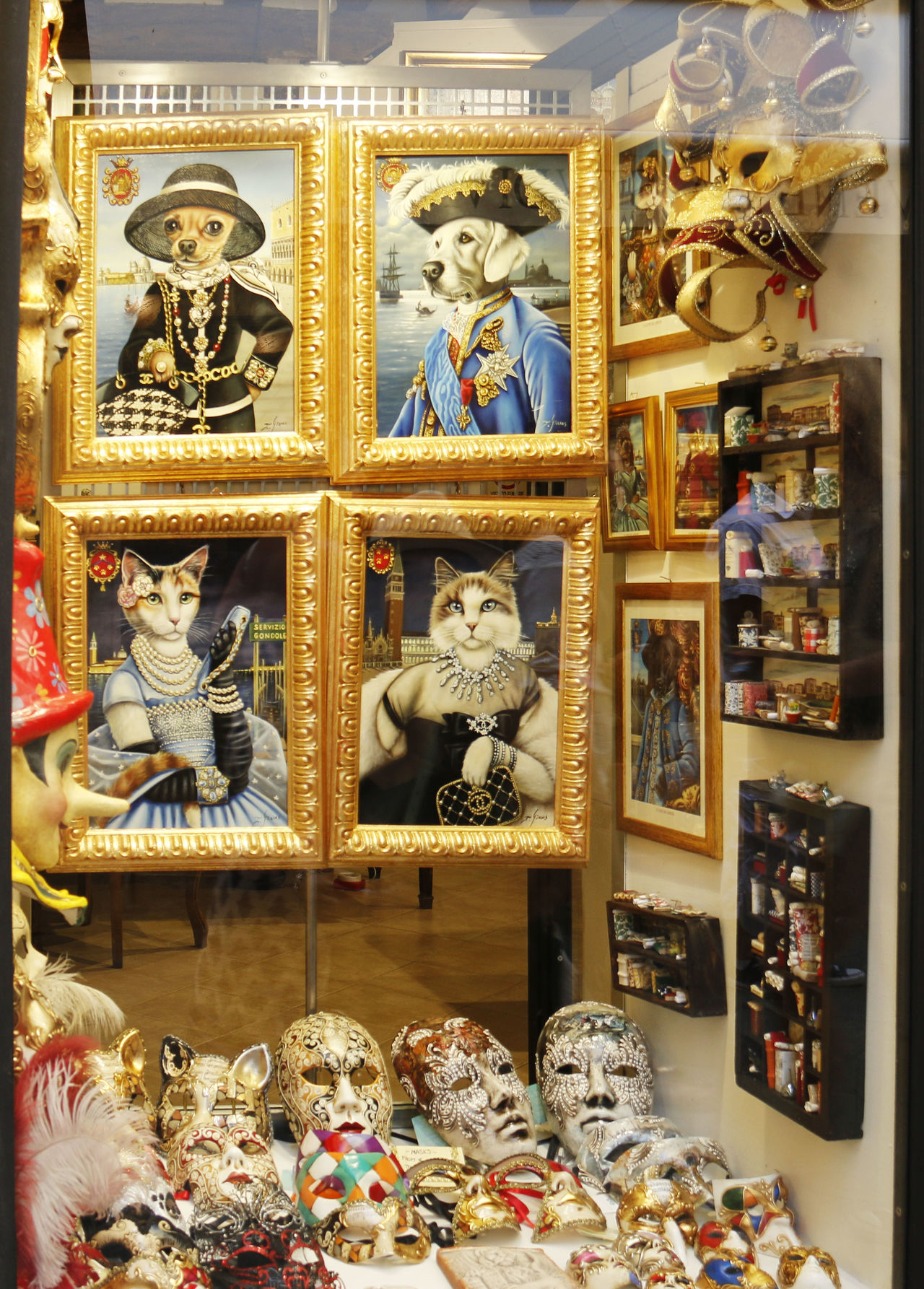 Cat Pictures Cats Italy Masksheet Masquerade Masquerademasks Romantic City Venice Window Window Display