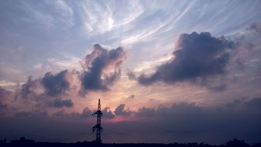 Sky Sunset Clouds Seal