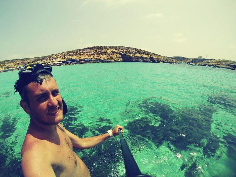 Blue!!! The Blue Lagoon, Comino Malta2014