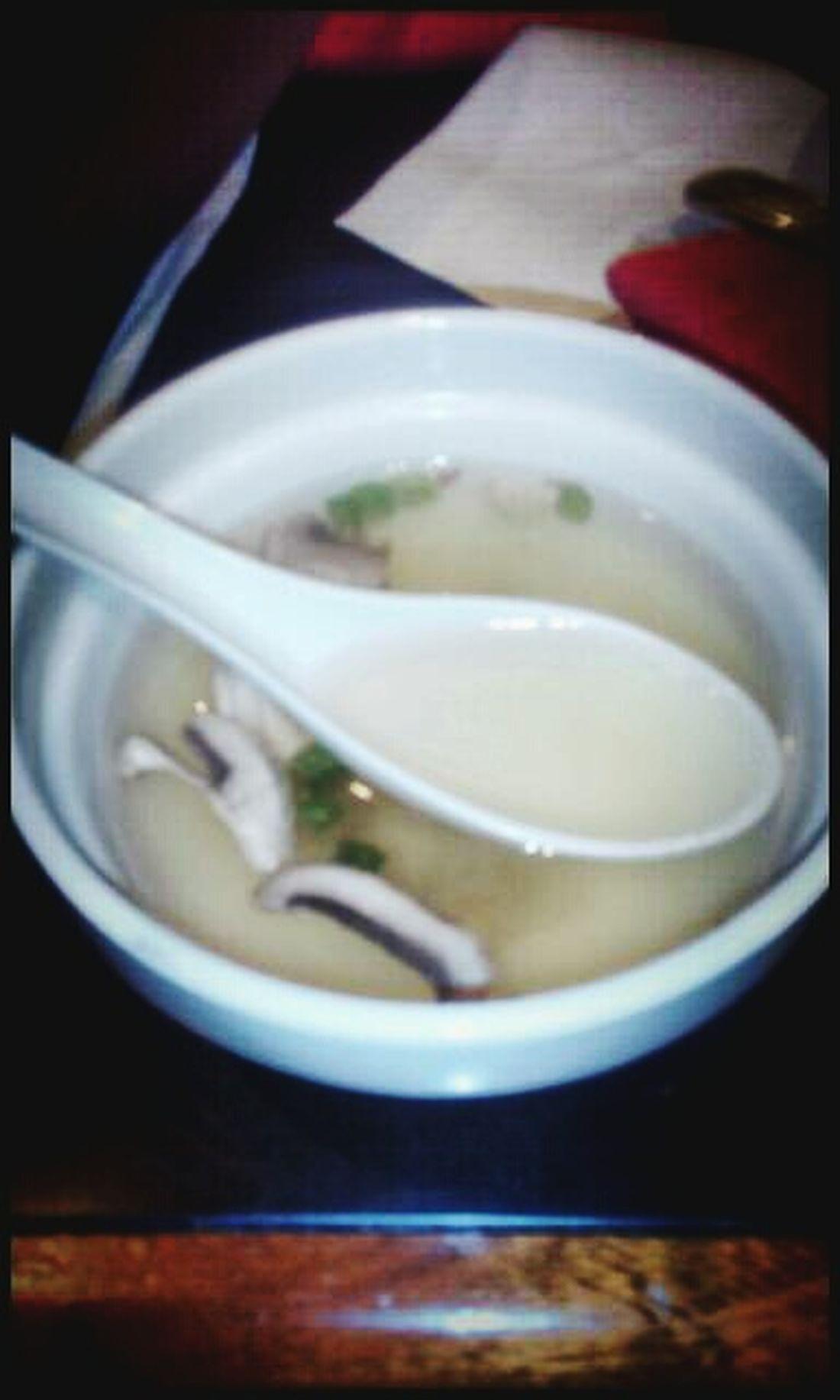 Start of my dinner