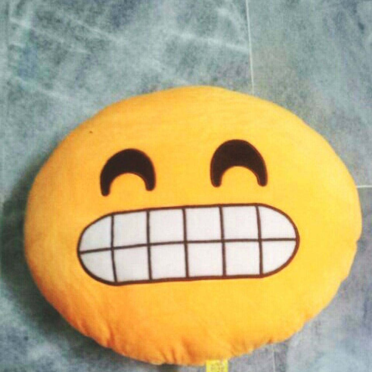 Smiling to the core Emoji Pillows No People Close-up Indoors  Day First Eyeem Photo